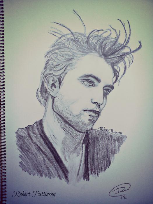 Robert Pattinson by Mitsos